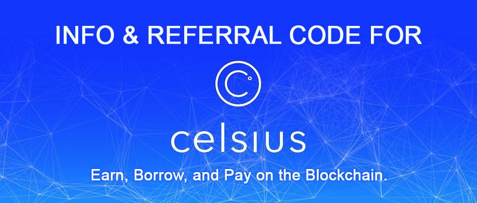 Celsius Network Referral Code